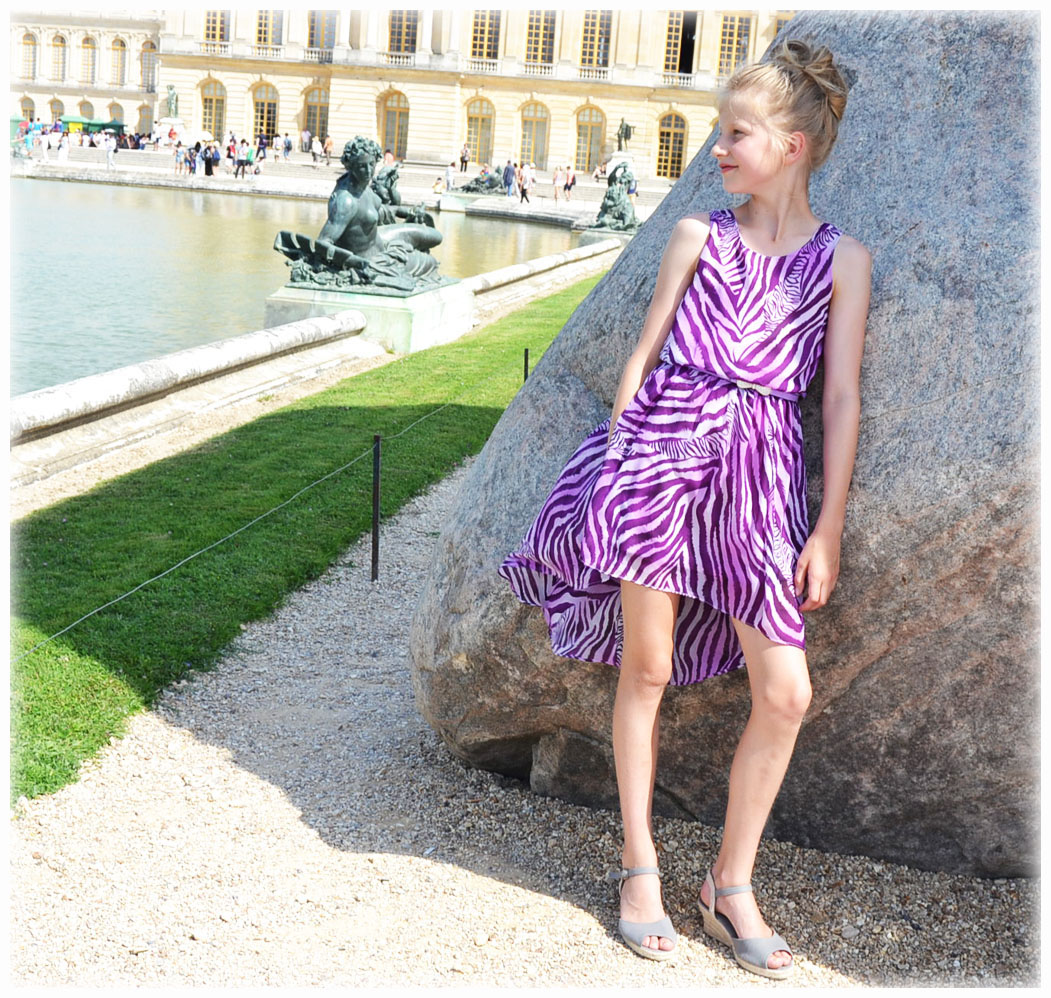 10851 tail dress purple